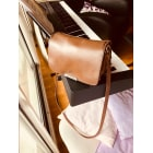 Leather Handbag BA&SH Brown