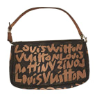 Non-Leather Clutch LOUIS VUITTON Brown