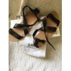 Sandales plates  GERARD DAREL Noir