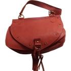 Leather Shoulder Bag SEE BY CHLOE Orange