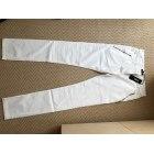 Pantalon DKNY Blanc, blanc cassé, écru