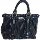 Leather Handbag MIU MIU Black
