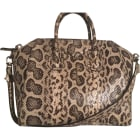 Leather Handbag GIVENCHY Animal prints