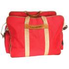 Non-Leather Oversize Bag LANCEL Red, burgundy