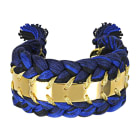 Braccialetto AURELIE BIDERMANN Blu, blu navy, turchese