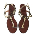 Flat Sandals LANVIN Animal prints