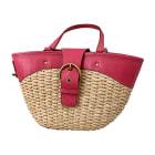 Leather Handbag MIU MIU Pink, fuchsia, light pink
