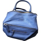 Leather Handbag GIVENCHY Blue, navy, turquoise