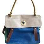 Leather Handbag SAINT LAURENT Sac de Jour Multicolor