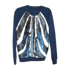 Sweater LOUIS VUITTON Blue, navy, turquoise
