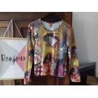 Top, T-shirt AVENTURES DES TOILES Multicolor