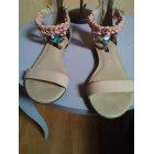 Flat Sandals PATRIZIA PEPE Pink, fuchsia, light pink