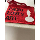 Sac en bandoulière en tissu ZADIG & VOLTAIRE Rouge, bordeaux