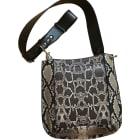 Leather Shoulder Bag ISABEL MARANT Animal prints