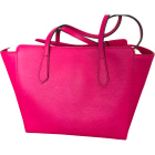 Leather Handbag GUCCI Pink, fuchsia, light pink