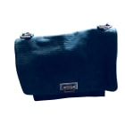 Borsetta in pelle BA&SH Blu, blu navy, turchese