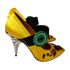 Pumps, Heels PRADA Yellow