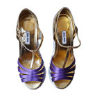 Peep-Toe Pumps MIU MIU Purple, mauve, lavender