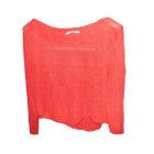 Sweater COTÉLAC rouge vermillon