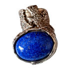 Ring YVES SAINT LAURENT Blue, navy, turquoise