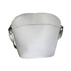 Leather Handbag LONGCHAMP White, off-white, ecru