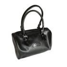 Leather Handbag LONGCHAMP Black