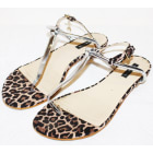 Flat Sandals PATRIZIA PEPE Brown