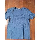 T-shirt MAISON KITSUNÉ Blue, navy, turquoise