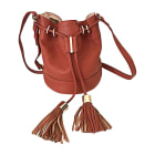 Leather Shoulder Bag SEE BY CHLOE Terracotta