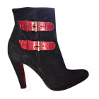 Bottines & low boots à talons CHRISTIAN LOUBOUTIN Noir