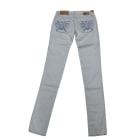 Jeans slim GAS Bleu, bleu marine, bleu turquoise