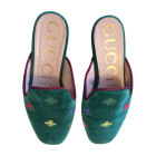 Slippers GUCCI Green