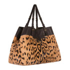 Leather Handbag JEROME DREYFUSS Animal prints