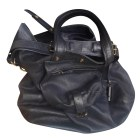Leather Handbag JEROME DREYFUSS Blue, navy, turquoise