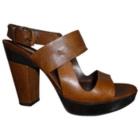 Heeled Sandals SARTORE Beige, camel