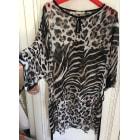 Robe tunique JACQUELINE RIU Imprimés animaliers