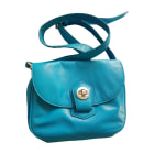 Leather Shoulder Bag MARC JACOBS Blue, navy, turquoise