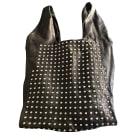 Leather Handbag MAJE Black