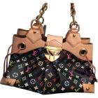 Leather Handbag LOUIS VUITTON Multicolor