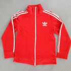 Tracksuit Top ADIDAS Red, burgundy