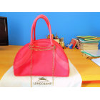 Leather Handbag LONGCHAMP Pink, fuchsia, light pink