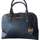 Leather Handbag MICHAEL KORS Blue, navy, turquoise