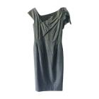 Robe mi-longue ISABEL MARANT ETOILE Gris, anthracite