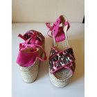 Sandales compensées MINELLI Imprimés animaliers
