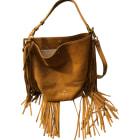 Leather Handbag JEROME DREYFUSS Beige, camel