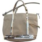 Non-Leather Shoulder Bag VANESSA BRUNO Beige, camel