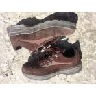 Chaussures à lacets AIGLE Marron