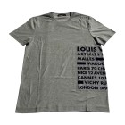 T-shirt LOUIS VUITTON Gray, charcoal