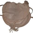 Leather Shoulder Bag GERARD DAREL Beige, camel