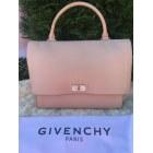Leather Handbag GIVENCHY Beige, camel